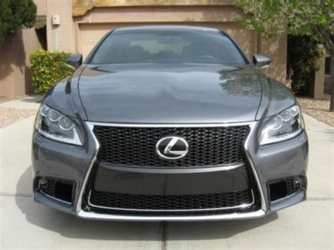lexus sport 4 door buy used 2013 lexus ls460 f sport sedan 4 door 4 6l in