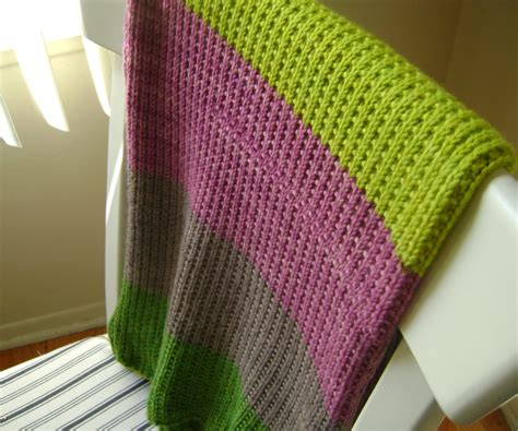 easy knitted baby blanket easy baby blanket for a baby lavender and olive