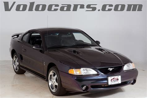 1996 ford mustang cobra 1996 ford mustang cobra svt for sale 61032 mcg