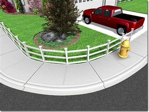 sidewalk  concrete driveway expansion joints