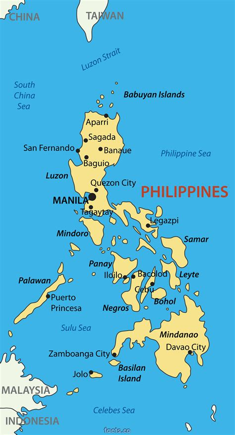 map usa to philippines philippinen karte st 228 dte