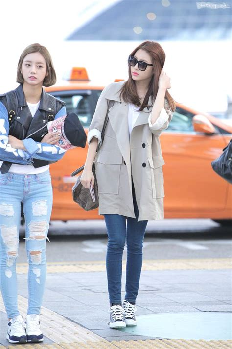 s day airport 21 best images about hyeri on hair casual