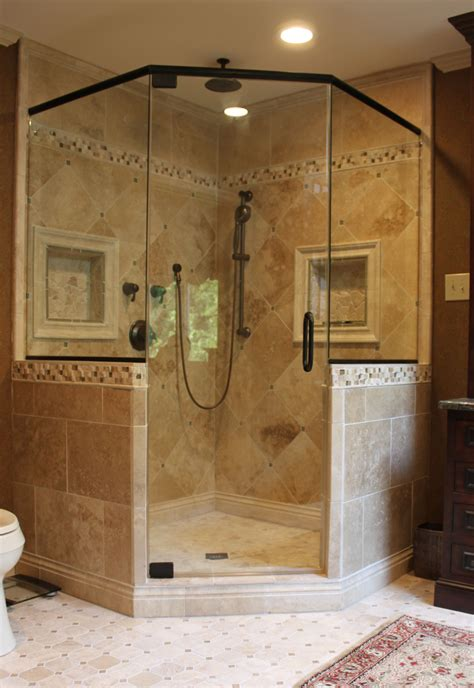 Like The Shower Frame Want Two Shower Heads Like Master Bathroom Showers