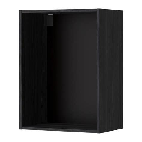 metod korpus wandschrank metod korpus wandschrank holzeffekt schwarz 60x37x80 cm