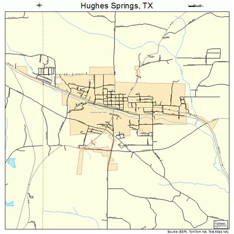 map of springs texas hughes springs texas map 4835300