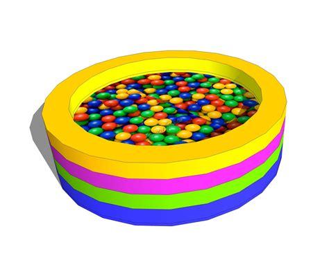 vasca palline vasca di palline circolare