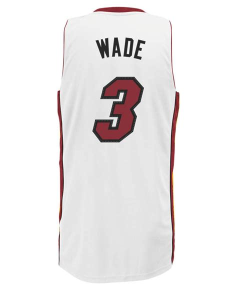 Jersey Miami Heat Dwade adidas originals s miami heat dwyane wade jersey in
