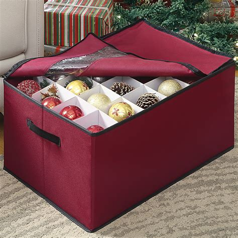 christmas ornament boxes on sale oia ornament storage box reviews wayfair