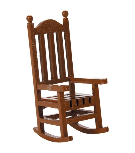 Miniature Chairs timeless miniatures wood rocking chair jo