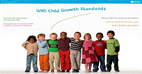growth pattern en francais who the who child growth standards