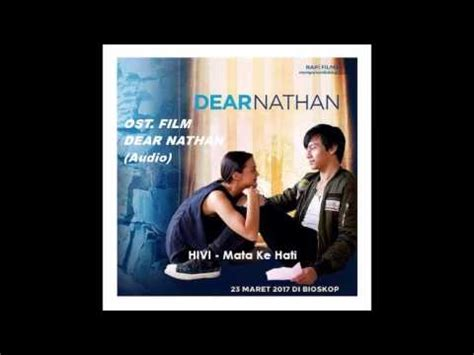 film dear nathan youtube ost dear nathan quot mata ke hati accoustic version quot youtube