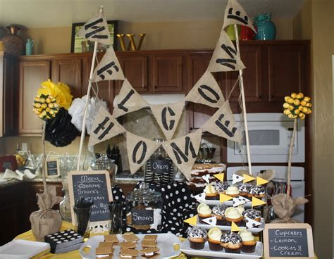 welcome home decorations best 25 welcome home parties ideas on pinterest