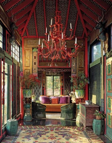 Tony Duquette Interiors by Luster Interiors More Is More