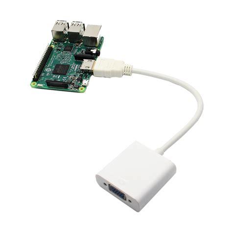 Jual Adaptor Raspberry Pi hdmi to vga adapter for raspberry pi