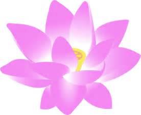 Free Clip Art Lotus Flower - free pink lotus flower clip art