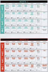 insanity max 30 calendar and schedule pdf with tips