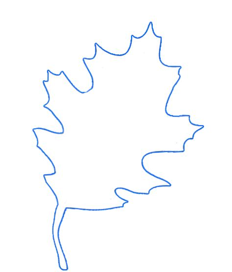 oak leaf template gonna stuff a chicken