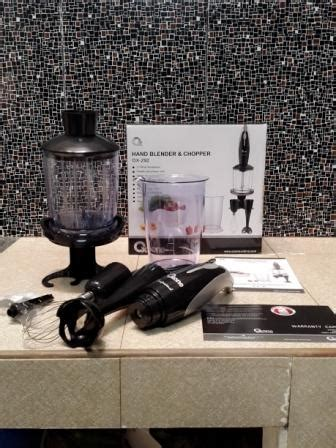 Daftar Juicer Oxone handblender and chopper oxone ox292 blender mixer juicer