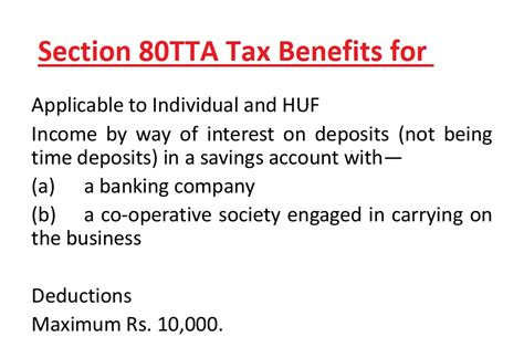 income tax section 80 tta section 80tta tax benefits nri can claim 10 000 inr on