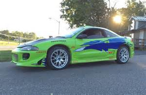 Paul Walker Mitsubishi Eclipse Check Out One Fast And Furious Fan S Tribute To Paul