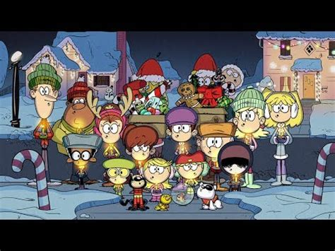 merry christmas   louds  video  loud house christmas song youtube