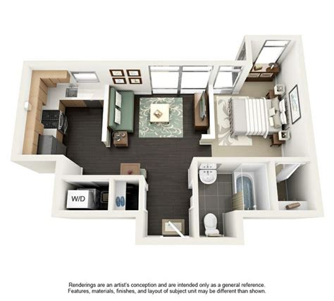 500 sq ft studio apartment floor plan 500 sq ft tiny house apt pinterest floors