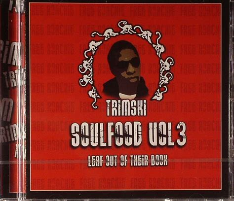feeling out of volume 3 books trimski soul food vol 3 leaf out of their book vinyl at