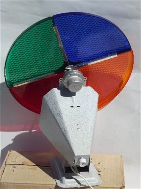 rotating light for aluminum christmas tree