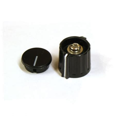 Collet Knobs by Elma Sifam Style Wing Collet Knob Black Base