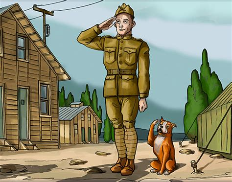 Sgt Stubby An American Cast Doyle To Score Sgt Stubby An American Reporter
