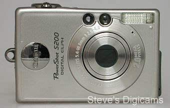 Pocket Canon S200 canon powershot s200 review overview steves digicams