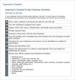 new employee orientation template orientation evaluation form image appendix c clinical