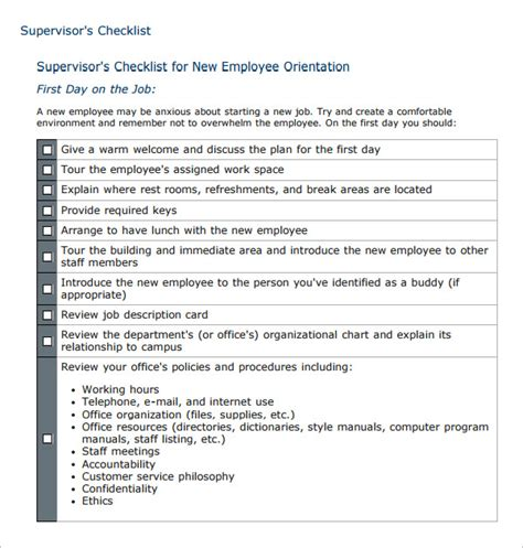 top new employee orientation templates free to download in pdf format