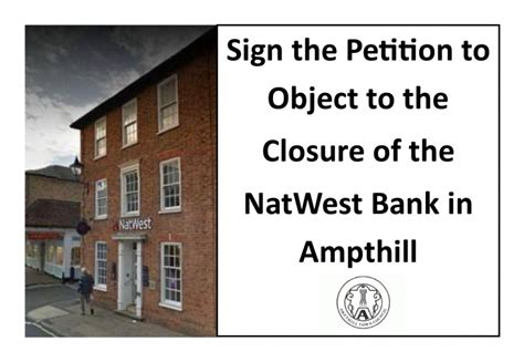 the natwest bank petition 183 object to the closure of the natwest bank in