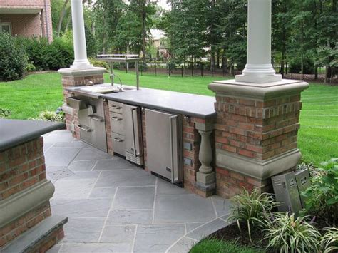 Outdoor Kitchen Designers by Creating A Stylish Outdoor Kitchen Cabinets My Kitchen