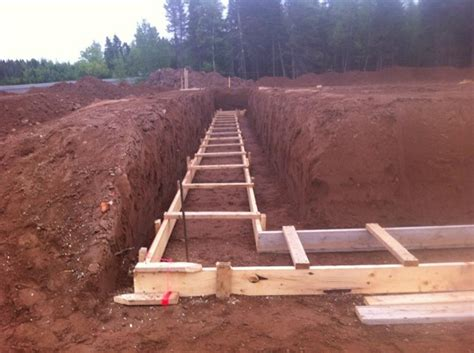 steps in construction of residential building