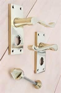 scroll door handles lock latch bathroom privacy