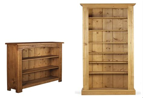 pine bookcase a small library designinyou