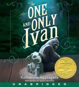 The one and only ivan cd katherine applegate cd audio