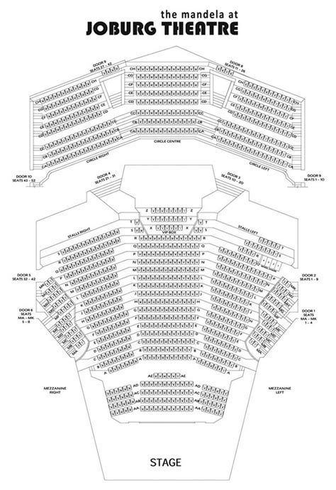 teatro montecasino floor plan theatre seating plans the mandela joburg theatre