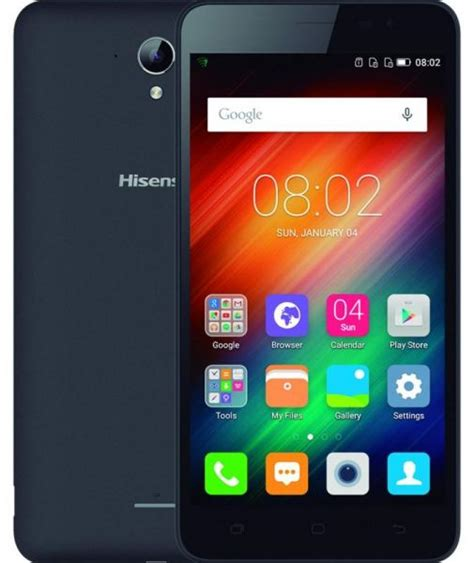 Hisense F20 8gb Black hisense f20 dual sim 8gb 4g lte black mobile phones