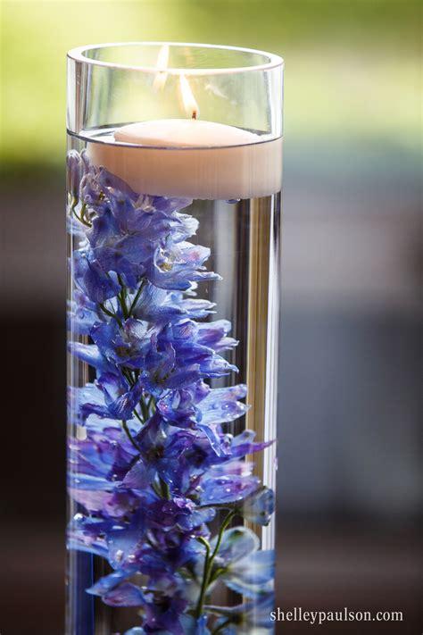 blue floral centerpieces submerged flower centerpieces floral centerpieces blue