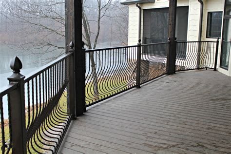 Metal Cabinets Kitchen Metal Deck Railing Paint Railing Stairs And Kitchen