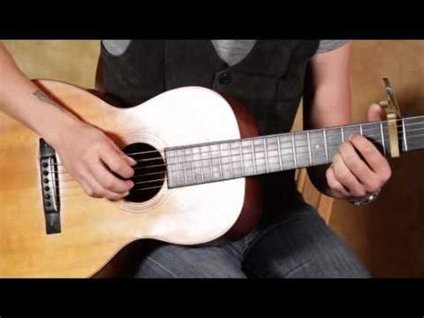 guitar tutorial james taylor how to play something in the way she moves by james