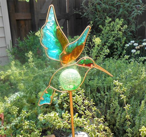 solar hummingbird light hummingbird solar lights for garden solar lights