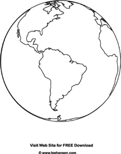 earth template planet earth coloring page