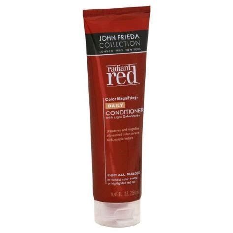 light blue shade conditioner john frieda radiant red color magnifying daily conditioner
