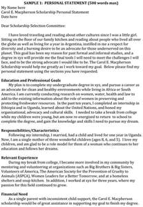 Single Education Essay by 5 Personal Statement Exles To Write An Attractive Statement