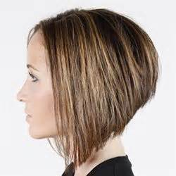 swing bob haircut steps behind the chair diagonal forward stack step by step
