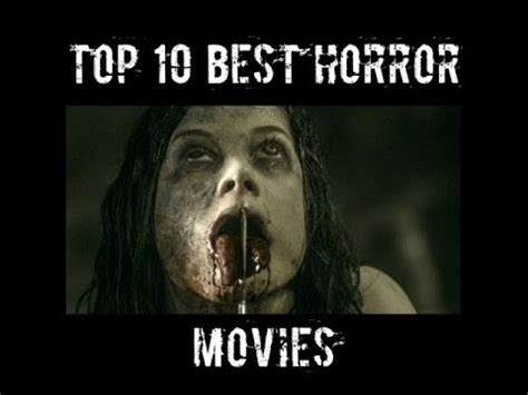 film horor recommended kaskus top 10 best horror movies ever 2012 2017 youtube